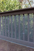 Cardinal Gates Heavy-Duty Outdoor Deck Netting, Neutral, 9.1m