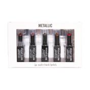 City Colour Collection Metallic 5pc Matte Finish Lipstick