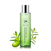 STQANON Olive Face Makeup Remover oil Deep Cleansing Gentle Natural Eye and Lip Make Up Remover 120ml / 4.1fl.oz. e