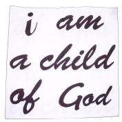 Ladaidra Baby Photography Blanket Prop Letter Printed Cotton, 100cm x 100cm