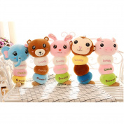 Lanlan Creative Panda Throw Pillow Stuffed Animals for Baby Animals Plush toys Throw Pillow for Kids