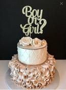 Boy or Girl Cake Topper