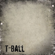 T-Ball Antique 30cm x 30cm Scrapbook Paper - 1 Sheet