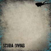 Scuba Diving Antique 30cm x 30cm Scrapbook Paper - 1 Sheet