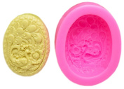 Ancefine Peacock Silicone Soap Mould,DIY Candle Mould,Random Colour