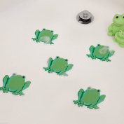 Non Slip Frog- Safety Decals Treads Bath Tub Anti-Skid Shower Applique