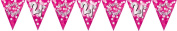 Amscan International 4 M Sparkle Party Bunting Flag Banner 21st, Pink