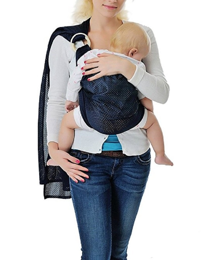 Cuby Breathable Baby Carrier Mesh Fabric Ideal For Summers