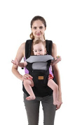Fresh Shine Baby Carrier, Black, Winter, 100% Cotton, Perfect for Baby, Toddlers and Infants