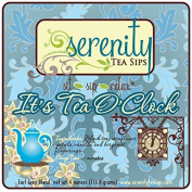 Serenity Tea Sips It's Tea O'Clock - 120ml loose leaf black Earl Grey blend with notes of bergamot and vanilla