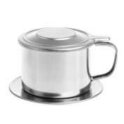 Kangnice Stainless Steel Drip Coffee Filter Maker Pot Infuser for Office Home Travelling