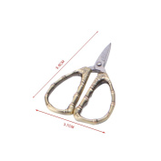 Mimgo Heavy Duty Stainless Steel Kitchen Scissors, Bamboo Design Cutting Shear Embroidery Sewing Tool for Home Office Kitchen Craft Cutting #6