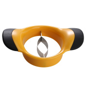 Savorliving Mango Slicer, Cuts, Slices & Removes the Pit, Extra Large Mango Slicer with Non Slip Handles