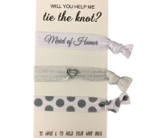 Bridesmaid Gifts, Bridesmaid Hair Ties, Bridesmaid Jewellery Accessory-Makes the Perfect Gift For Bridesmaids