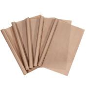 URGEAR PTFE Teflon Sheets for Heat Press Transfers, 100% Non Stick Heat Resistant Craft Mat 41cm x 50cm -[5 Pack]