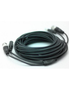 AKU 10M / 32.8 Feet BNC Video Power Cable For CCTV Camera DVR Security System