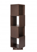 TemaHome Shell Rotative Unit, 40 x 40 x 156 cm, Chocolate