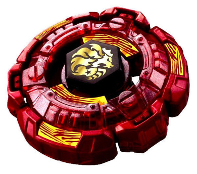 Fang Leone W105R2F Metal Fusion 4D Version Red Generic Battling toy