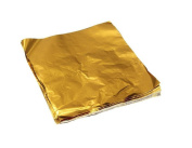 VNDEFUL 100Pcs 8 x 8cm Chocolate Candy Sweets Wrap Package Paper Aluminium foil Wrappers