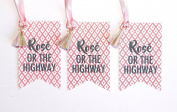 Rosé Or The Highway Wine Tag