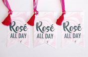 Rosé All Day Wine Tag