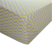 Ikat Chevron 60% Cotton (FITTED SHEET ONLY) Size QUEEN Boys Girls Kids Bedding