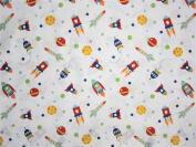 Kids Space 100% Polyester (FLAT SHEET ONLY) Size TWIN Boys Girls Kids Bedding