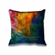 Square 46cm x 46cm Zippered Space Wonderer Hole Dark Pattern Pillowcases Digital Print Adults Kids Cushion Covers