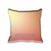 Square 46cm x 46cm Zippered Shiny Morning Sunlight Gradation Blur Pillowcases Digital Print Adults Kids Cushion Covers