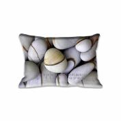 Unique Stone Standard Size Pillow Case 41cm x 60cm Zippered Digital Print Adults Kids Cushion Covers
