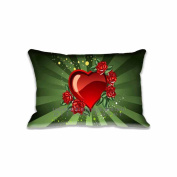 41cm x 60cm Pillow Protector Flowers Hearts Love Pillow Cover Home Decorative Kids Gift Pillow Cushion Cover