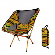Practical Folding Chair,Efaster(tm) Outdoor Folding Chair Portable Backrest Reinforced Lightweight Camping Supplies