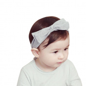 Alonea Cute Baby Stripe Elastic Cloth Bowknot Headband Hairband Cloth Kids Hair