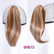 Short Wavy Claw Pony-tail Synthetic Ponytail Claw Drawstring Ponytails Hair Extension Natural Fake Hair Pony Tail Horse Tress