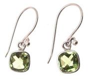 Peridot Stone Peridot Jewellery Gemstone Jewellery Peridot Earrings 925 Silver