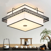 Chinese style Iron ceiling lamp simple living room lamp Antique Iron led bedroom lamp ceiling lights m