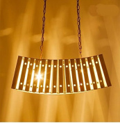 Solid Wooden bamboo pendant lights simple moderncreative lighting dining room bedroom lamp coffee bar wood pendant lamps m