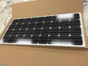 165 Watt Solar Panel for Charging 12 Volt Battery, High Efficiency, Made in USA!