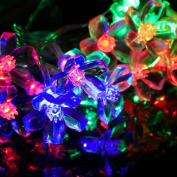 LIYUDL Blossom Flower Fairy String Light,2.2M 20LED Battery Battery Operated String Light for Bedroom,Patio,Lawn,Landscape,Garden,Home,Wedding,Holiday,Christmas Tree,Halloween,Party