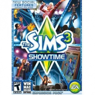 The Sims 3 Showtime Expansion Pack PC Video Game