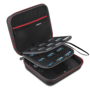 YiSeyruo Protective Travel Carrying Case for Nintendo 2DS,Black