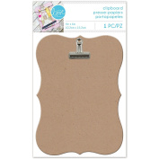 With Love By Momenta Clipboard-Scalloped Edge 10cm x 15cm