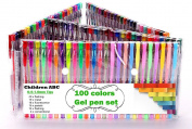 Gel Pens Set for Adult Colouring Books Drawing Painting Writing Winfashions Art 100 Colours