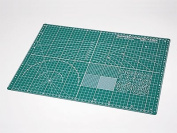 Tamiya Kraft Tool series No.76 Cutting Mat A3 size/Green Plastic model Tools for 74076
