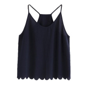 Women Summer Vest,Citycool Sleeveless Casual Tank Blouse Tops T-Shirt Black