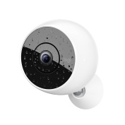 Logitech Circle 2 Indoor/Outdoor Weatherproof Wireless Home Security Camera (Person Detection, 24-Hr Free Time-Lapse)
