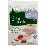 Only Organic Strawberry Yoghurt Kindy Rice Cakes