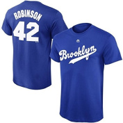 Jackie Robinson Brooklyn Dodgers #42 Youth Cooperstown Player T-shirt