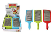 Diamond Visions 01-1359 Handheld Cheese Grater Multipack in Assorted Colours
