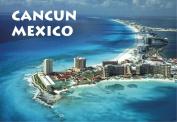 View of Cancun, Mexico, Beaches, City, Souvenir Magnet 2 x 3 Fridge Photo Magnet